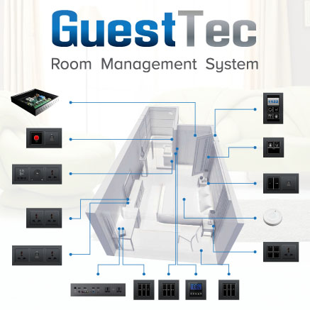 room control system - Guesttec Room Control System
