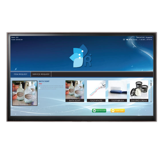 iptv solutions - In-room Dining