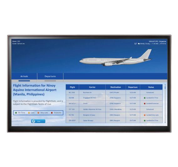 iptv solutions - Live Flight Schedules